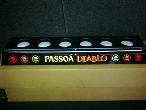 Passoá Diablo presentatie display met verlichting. - Diversen - Het ...